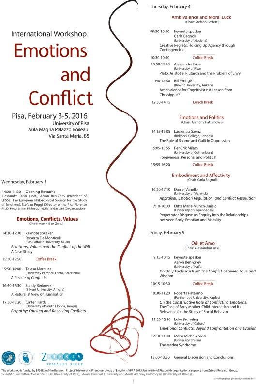 Locandina Emotions Conflict